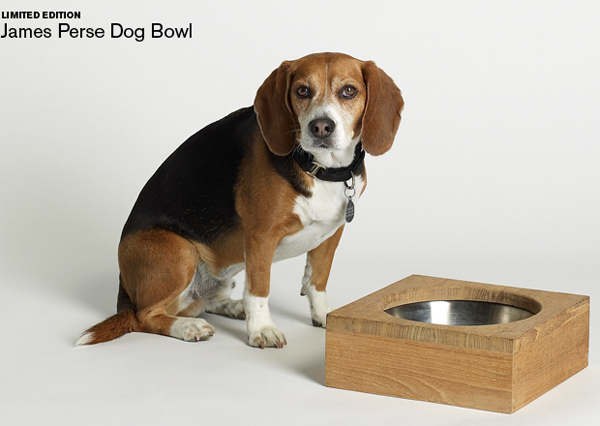 James Perse Dog Bowl
