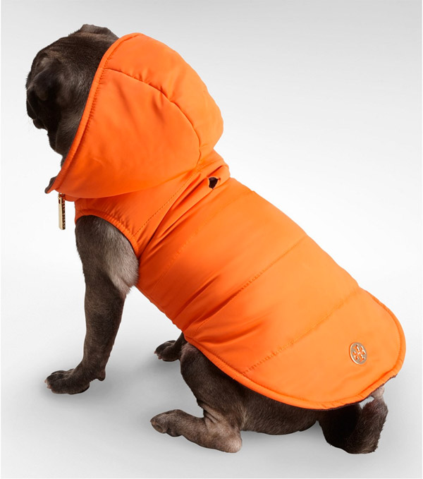Tory Burch Puffer Coat for Dogs