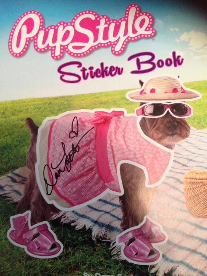 pupstylestickerbookcoversignedcopy